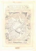 Alice in Wonderland Fisher Price Merch Art  Comic Art