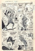 Amazing Spider-Man #62 p.18 - Spider vs. Medusa Action - Signed by Stan Lee!  Comic Art