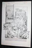 RoboCop #7 p.1 - LA - Dinosaur Kill - 1990 Comic Art
