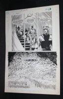 RoboCop #6 p.6 - LA - RoboCop in Underground Farm Splash - 1990 Comic Art