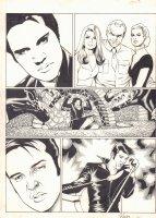 Penthouse Comix #5 p.3 - Episode 2: Heartbreak Hotel - Elvis Presley - 1995 Signed Comic Art