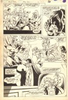 Blue Devil #31 p.17 - Great Kids in Halloween Hero Costumes - 1986, Seller: Anthony's Comicbook Art, Price $250