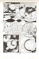 Sonic The Hedgehog #73 p.6 ~ Signed Comic Art