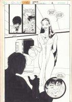 Supergirl #39 p.7 - Blithe Splash - 1999 Comic Art