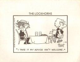 The Lockhorns Signed - Print - 1/23/87 Comic Art