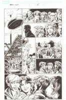 BBDO Campbell's Diversity: Ultimate Spider-Man/Ultimate X-Men #1 p.5 - Peter, MJ, and Storm - 2009 Comic Art