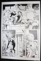 National Lampoon #1982-01 Bewitched Parody - LA - Having Sex with Demons - 1982 Signed Comic Art