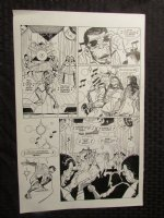 Planet Of The Apes #? p.2 Rock Star Apes Comic Art