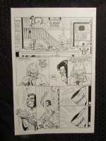 Planet Of The Apes #? p.12 Dr. Benday & Flannagan Comic Art
