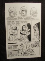 Planet Of The Apes #? p.13 Dr. Benday & Flannagan Comic Art