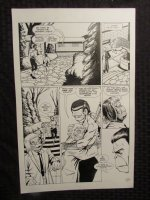 Planet Of The Apes #? p.24 Rox & Dr. Benday Comic Art