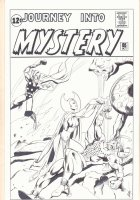 Journey Into Mystery #85 Cover Recreation - Thor and Loki - 2015 Signed Comic Art