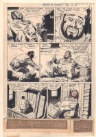 House of Secrets #83 p.1 - Storyteller Abel Intro - 1970 Comic Art