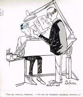 Artist Thumbnail Sketches - 8 x 10 Comic Art