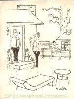 House Warming Gin - Humorama 1964 Comic Art