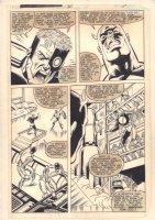 Captain America #265 p.17 - Cap vs. Sultan - 1982 Comic Art