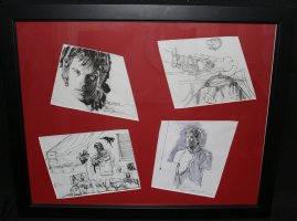 Dexter from Showtime Art for Webseries - Framed - 2010 Signed Comic Art