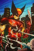 Mark McNabb Color Art of Wolverine by Todd McFarlane Stat 1990 Comic Art