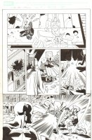 Last Hero Standing #5 p.13 - Spider-Girl, Loki, Dr. Strange, Thor, & Captain America - 2005 Signed Comic Art