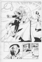 Spider-Girl #48 p.14 Splashy Fight Comic Art