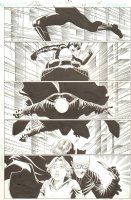 Catwoman #28 p.15 - Action vs. Villain - 2004 Signed Comic Art