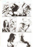Cable #21 p.28 - Cable & Hope vs. Bishop - 2010 Signed Comic Art