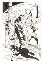 Catwoman #29 p.2 - Selina Kyle Training - 2004 Signed Comic Art
