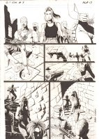 G.I. Joe #9 p.13 - Signed Comic Art