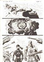 G.I. Joe #14 p.11 - Baroness and Destro - Signed Comic Art