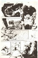 Cable #16 p.19 - Cable vs. Bishop - 2009 Signed Comic Art