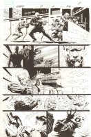Cable #17 p.11 - Great Cable Gunfight - 2009 Signed Comic Art