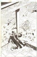 Green Lantern: Dragon Lord #3 p.34 - Awesome Giant Tigers Splash - 2001 Signed Comic Art