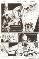 G.I. Joe: Special Missions #1 p.10 - Daring Escape - IDW Publishing - 2013 Signed Comic Art