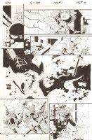 G.I. Joe: Special Missions #1 p.8 - Gunfight - IDW Publishing - 2013 Signed Comic Art