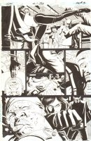 G.I. Joe: Special Missions #? p.3 - Baroness Action - IDW Publishing - 2013 Signed Comic Art