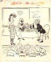 Psychology Sex vs Hunger - 1968 Humorama, Seller: Anthony's Comicbook Art, Price $45