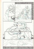 Avengers: Season One p.4 - Loki and Iron Man - 2012 Comic Art
