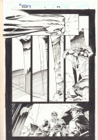 Rampaging Hulk #1 p.29 - Hulk Action vs. Soldiers - 1998 Signed Comic Art