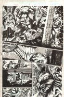 Venom: The Hunger #1 p.17 - Venom Terrifies - Sam Kieth-esque - 1996 Comic Art