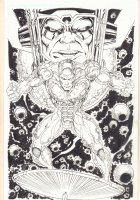 Galactus and the Silver Surfer Cover Quality Commission - Signed Comic Art