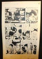 The Unseen #9 p.2 - LA - 'The Bleeding Platter' - 1953 Comic Art