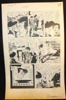 The Unseen #9 p.3 - LA - 'The Bleeding Platter' - 1953 Comic Art