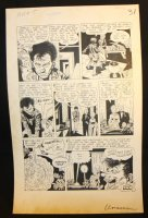 The Unseen #9 p.5 - LA - 'The Bleeding Platter' End Page - 1953 Comic Art