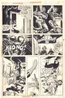 Giant-Size Spider-Man #4 p.17 - All Great Spidey Action vs. Guards - 1975 Comic Art