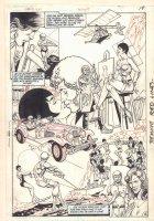 Teen Titans Spotlight #3 p.19 - Jericho Montage Splash - 1986 Comic Art