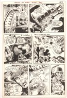 Our Army at War #243 p.4 - Changing a Flat then chased by Nazis - 1972  Comic Art