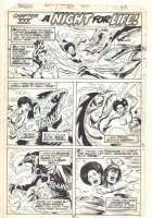 Tarzan #20 p.23 - Chapter XXX: A Night For Life! - Awesome Black Jungle Babe vs. Dinosaurs - 1979  Comic Art