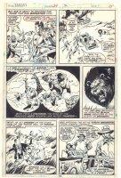 Tarzan #24 p.15 - Animals vs. Hunters - Great Lion - 1979  Comic Art