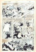 Thor #369 p.14 - Thor vs. Balder - 1986 Signed Comic Art
