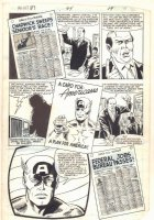 What If? #44 Captain America Were Revived Today? p.16 - 1984 Comic Art